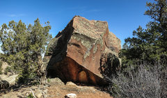 Rock Climbing Photo: Arbor Day's south face.