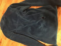Patagonia fleece hole