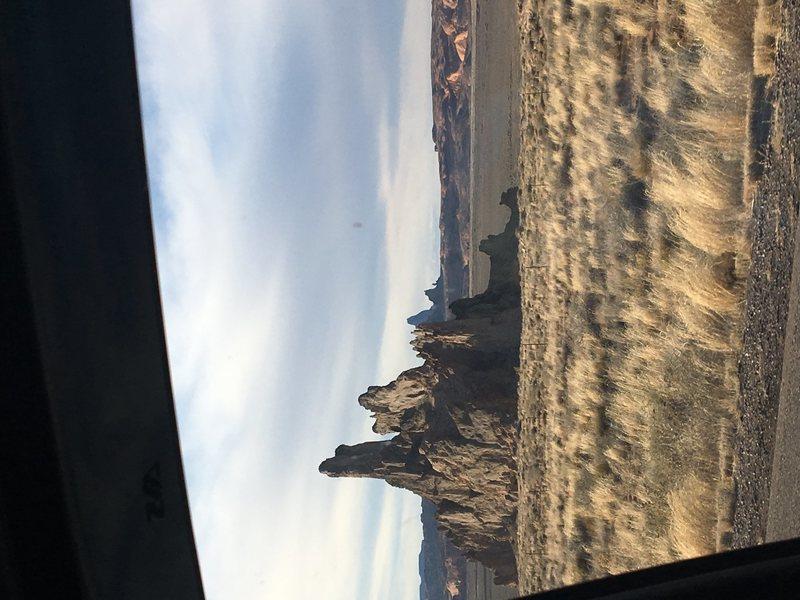 Church Rock outside Kayenta, AZ