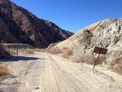 Rock Climbing Photo: Lower Berdoo Canyon