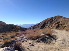 Rock Climbing Photo: Berdoo Canyon