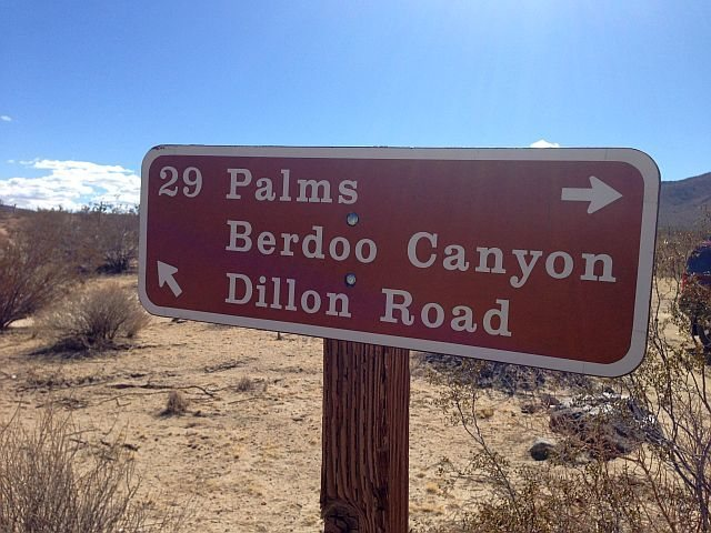 Geology Tour Road to Berdoo Canyon