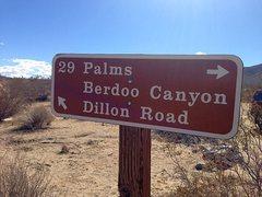 Rock Climbing Photo: Geology Tour Road to Berdoo Canyon