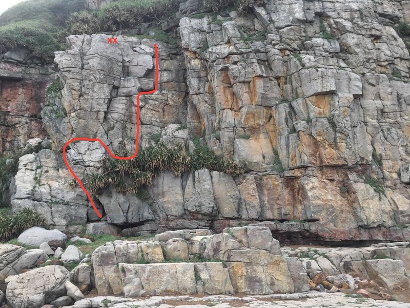 Rock Climbing Photo: 201. Operation Odyssey Dawn