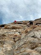Rock Climbing Photo: Hug it. Love it