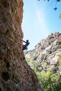 Rock Climbing Photo: Gettin the next draw
