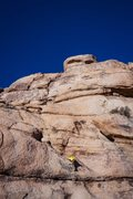 Rock Climbing Photo: Following the leader and cleaning the route.  The ...