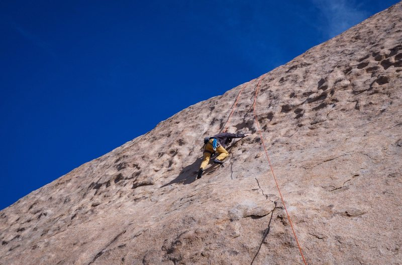 Rock Climbing Photo: After leading it, we set this route for TR (yes, l...