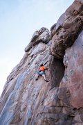 Rock Climbing Photo: Mixing it up on Empathy.