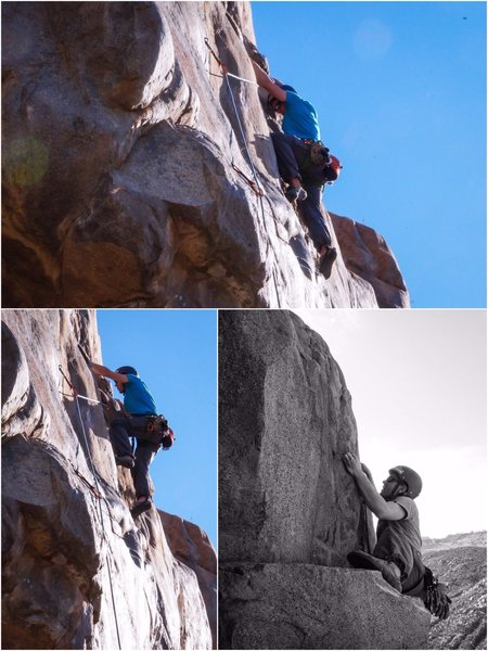 Rock Climbing Photo: Strait forward climb with killer views of the gorg...