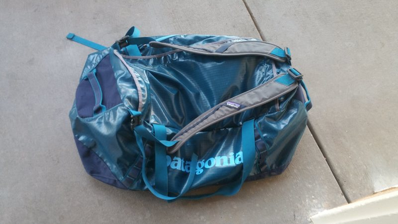Rock Climbing Photo: Patagonia Bag