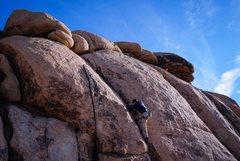 Rock Climbing Photo: Getting deep in B-2 - nice little warmup for J Tre...