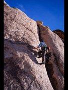 Rock Climbing Photo: Feet don't fail me now!