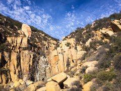 Rock Climbing Photo: Great little playground at Ortega Falls - slack li...