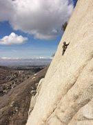 Rock Climbing Photo: Crescent Crack