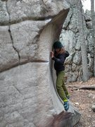 Rock Climbing Photo: Scooped