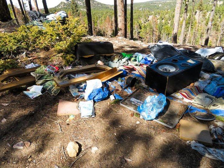Rock Climbing Photo: Transient Trash 1