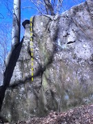 Rock Climbing Photo: Great small feature climbing on solid stone