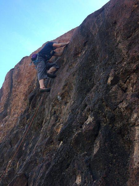 Rock Climbing Photo: FA MI9
