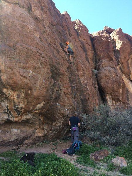 Rock Climbing Photo: FA Plausible Denial