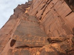 Rock Climbing Photo: A look at the original first pitch of Super Natura...
