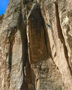 Rock Climbing Photo: Valarie Anderson on Shouting Stage, 512a  UWP from...