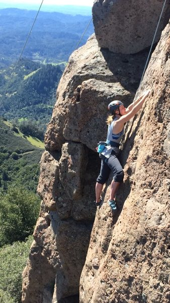 Rock Climbing Photo: Beautiful day at Shute Mills