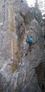 Rock Climbing Photo: Moving into the business section of Strange Scienc...