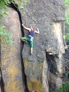 Rock Climbing Photo: Corrosion