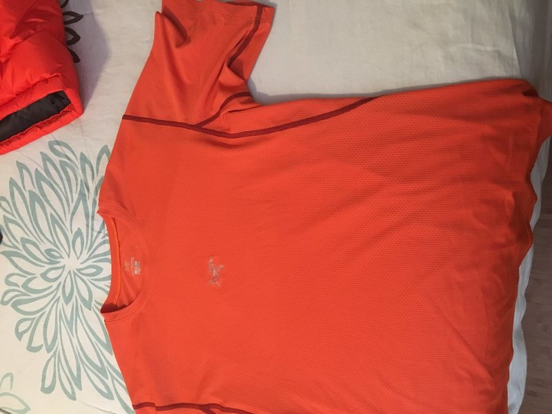 Arc'teryx shirt. Medium.  New or nearly new.  Don't think I've ever worn it.
