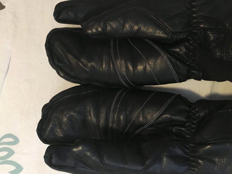 Seth Morrison gloves