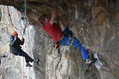 Rock Climbing Photo: Me sending. This climb was so rad!