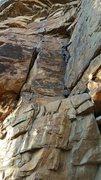 Rock Climbing Photo: Leading Free to Think