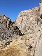 Rock Climbing Photo: Looking north from Super Fly, ORG-asim around the ...