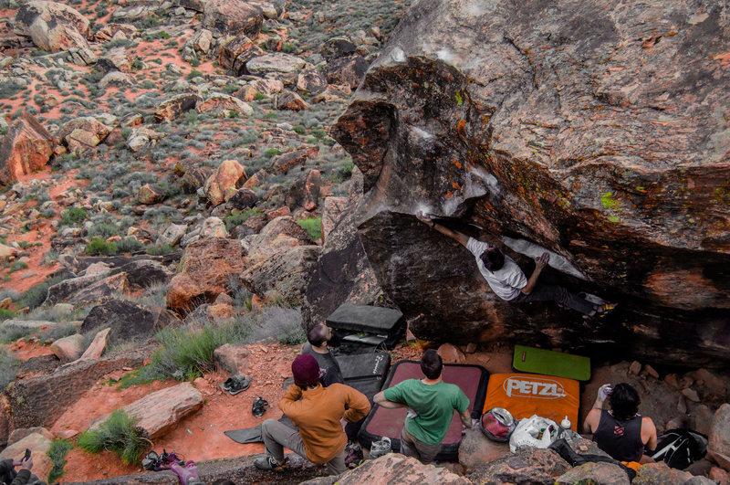 Rock Climbing Photo: Guy McAtee on 'Gription'