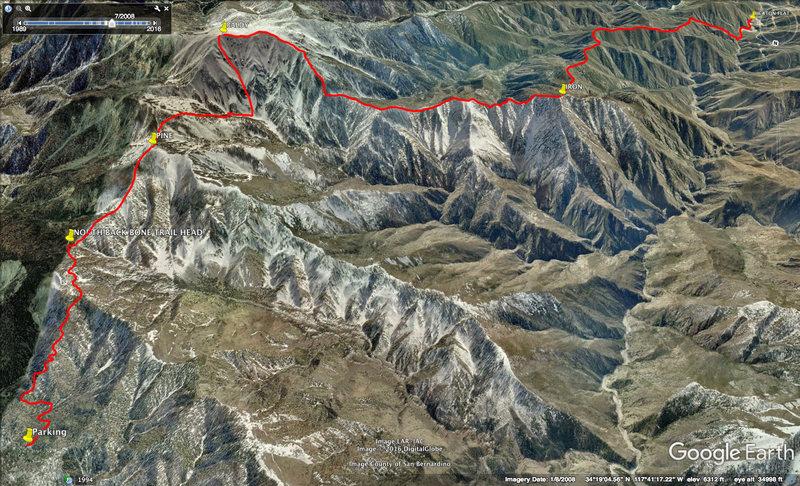 Rock Climbing Photo: San Tony Classic. Wrightwood - Pine - Baldy NF - S...