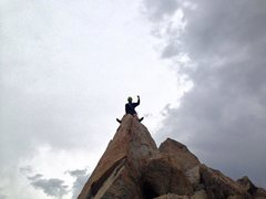 Rock Climbing Photo: summit ride, emerson
