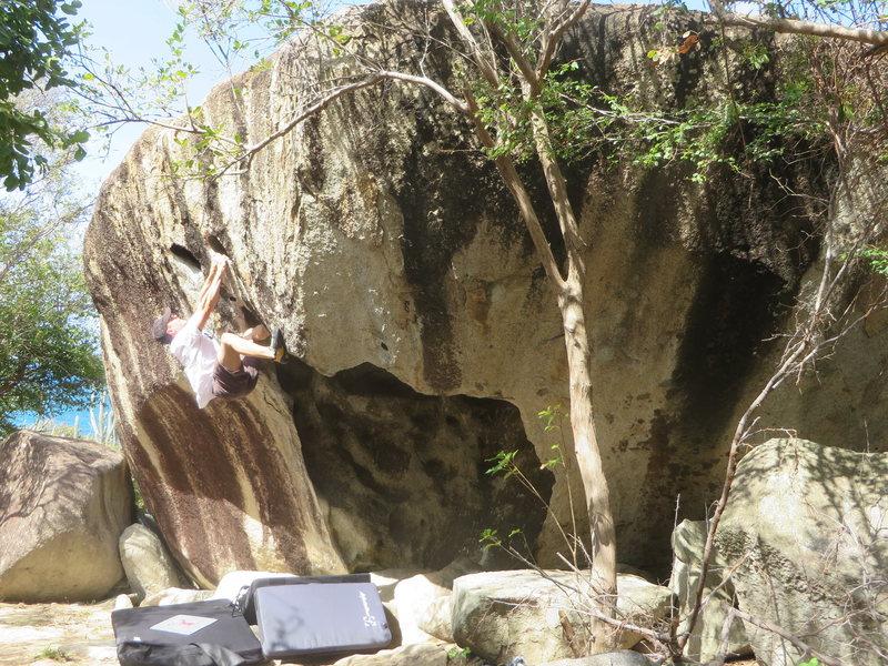 Rock Climbing Photo: Devils Bay, Skull Rock