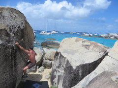 Rock Climbing Photo: Devils Bay, Left