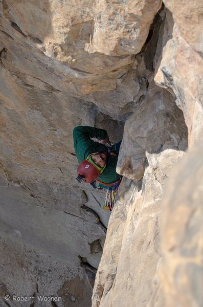 Rock Climbing Photo: Found a rest, now I'm looking for my next gear...