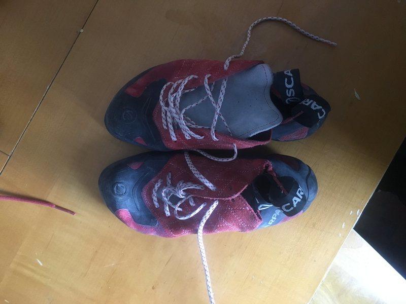 Rock Climbing Photo: scarpa