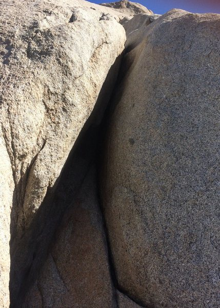 Rock Climbing Photo: Offwidth pitch 2