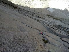 Rock Climbing Photo: Lower Syke's Sickle.