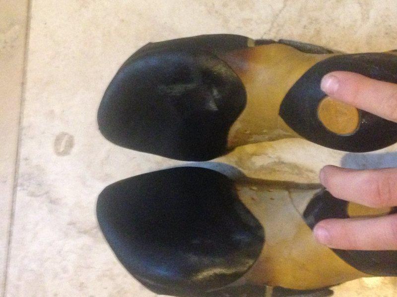 Rock Climbing Photo: Solution soles