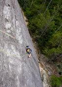 Rock Climbing Photo: 12 year old Sarah Caroline on Sundial