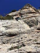 Rock Climbing Photo: Heading up BC to ES
