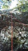 Rock Climbing Photo: shows the start....