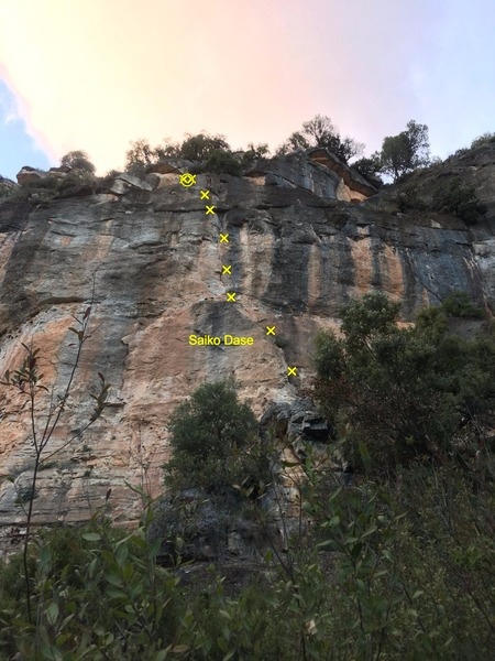 Rock Climbing Photo: Saiko Dase