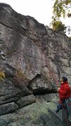 Rock Climbing Photo: awesome climb...worth the hike for sure!