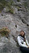 Rock Climbing Photo: KLS at the base of Cactus Pile